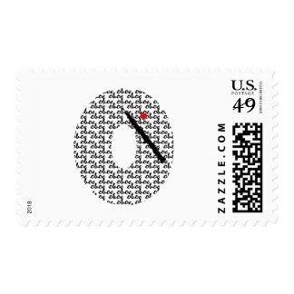 Letra O de Oboe Sello Postal