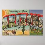 Letra ScenesArizona de ArizonaThe SunLarge Impresiones