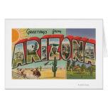 Letra ScenesArizona de ArizonaThe SunLarge Tarjeta