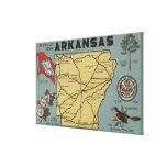 Letra ScenesArkansas 2 de ArkansasLarge Impresión En Lona