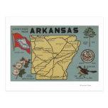Letra ScenesArkansas 2 de ArkansasLarge Postal