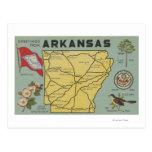 Letra ScenesArkansas de ArkansasLarge Postales