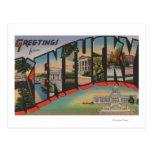 Letra ScenesKentucky de KentuckyLarge Postal