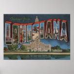 Letra ScenesLouisiana de LouisianaLarge Poster