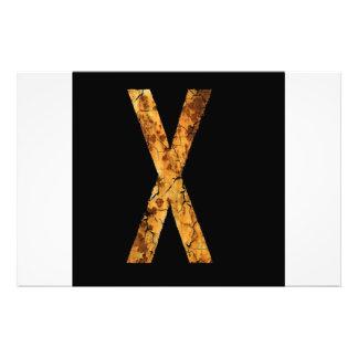 Letra X Impresiones Fotograficas