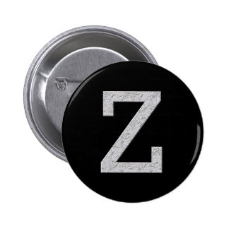Letra Z del monograma Pins