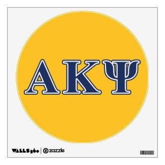 Letras alfa de la marina de guerra de Kappa PSI