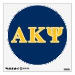 Letras amarillas alfa de Kappa PSI