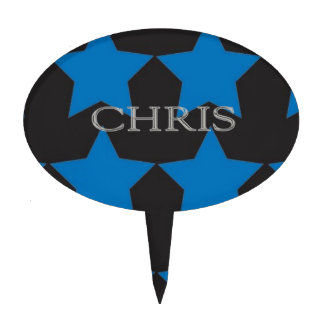 Letras aumentadas personalizado de Chris Figuras De Tarta