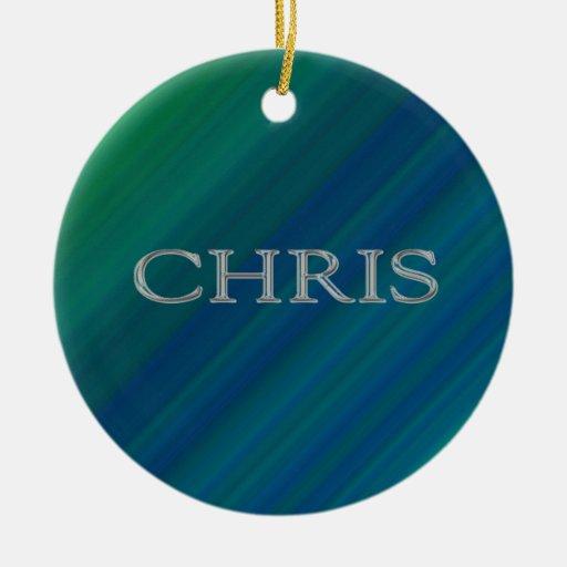 Letras aumentadas personalizado de Chris Ornatos
