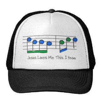 Letras azules gorra