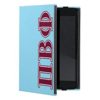 Letras beta del marrón de la phi del pi iPad mini protector