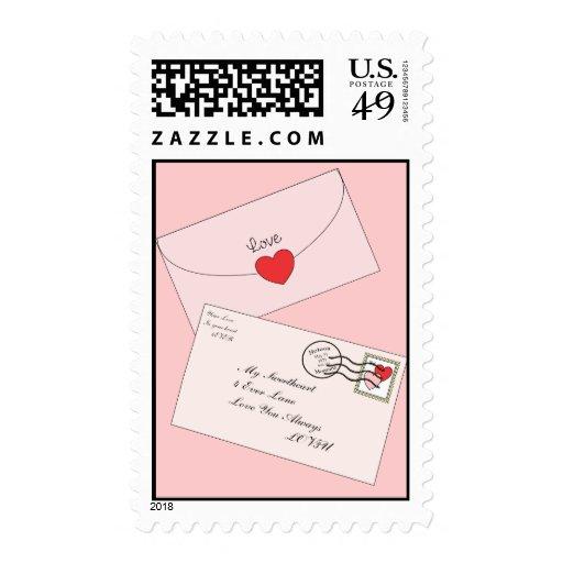 Letras de amor sellos