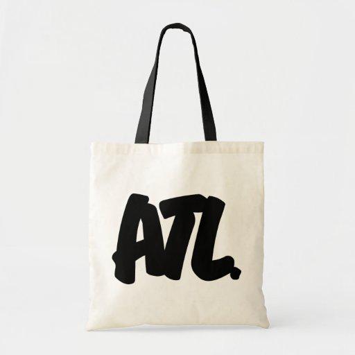 Letras de ATL Bolsa De Mano