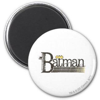 Letras de Batman Showtime Imán Redondo 5 Cm
