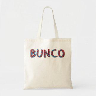 Letras de Bunco con los dados del bunco Bolsa