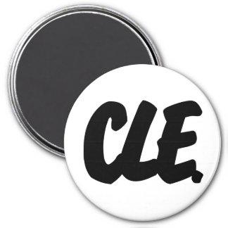 Letras de CLE Imán Redondo 7 Cm
