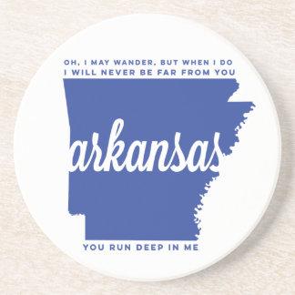 letras de la canción de Arkansas el | el | azul Posavasos Manualidades