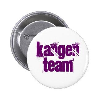 Letras de la púrpura del botón del equipo de Kange