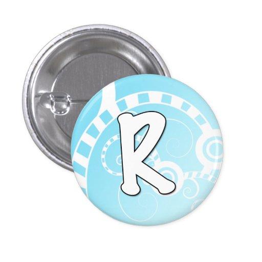 Letras de los botones del alfabeto - R