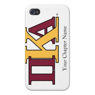 Letras de PKA iPhone 4 Funda