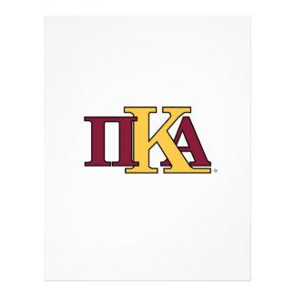 Letras de PKA Tarjetas Publicitarias