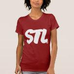 Letras de STL Camiseta