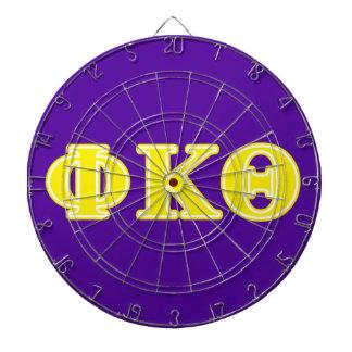 Letras del amarillo de la theta de Kappa de la phi