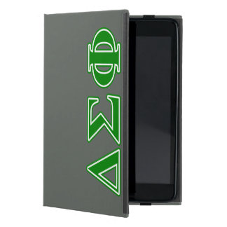 Letras del verde de la phi de la sigma del delta iPad mini cárcasas