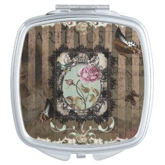 Letras del Victorian Espejo Compacto
