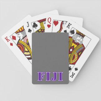 Letras gammas de la púrpura del delta de la phi baraja de póquer