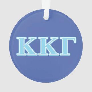 Letras gammas de los azules cielos de Kappa Kappa