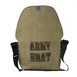 Letras militares de Camo del palo de golf del Bolsa Messenger