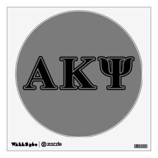Letras negras alfa de Kappa PSI