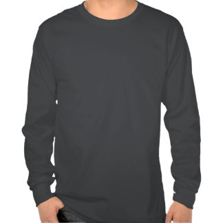 Letras negras del delta del Tau del delta Camisetas