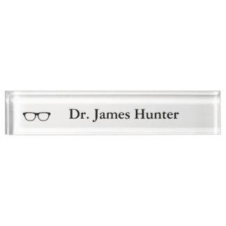 """Letrero personalizado de las """"lentes"""""""