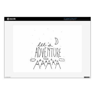Let's Adventure-01 Laptop Decal