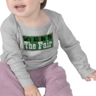 Let's all go to the Fair Fun Toddler Shirt