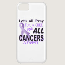 Let's All Pray For a Cure Cancer Awareness Apparel iPhone 5C Case