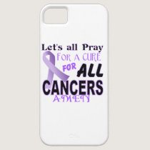 Let's All Pray For a Cure Cancer Awareness Apparel iPhone SE/5/5s Case