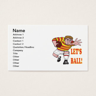 Lets Ball 2 Business Card