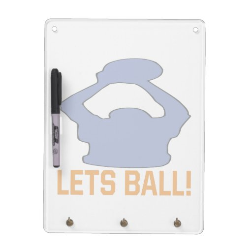 Lets Ball 2 Dry Erase Board
