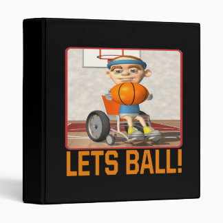 Lets Ball 3 Ring Binder