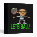 Lets Ball 3 Ring Binder