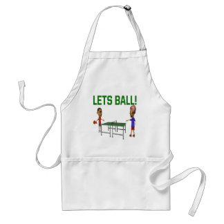 Lets Ball Adult Apron