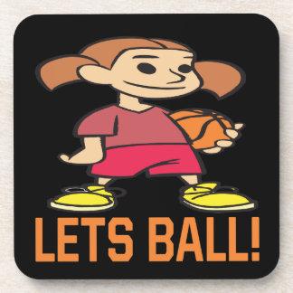 Lets Ball Beverage Coaster