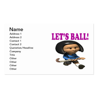 Lets Ball Business Card