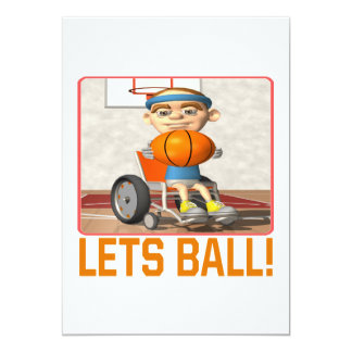 Lets Ball Card