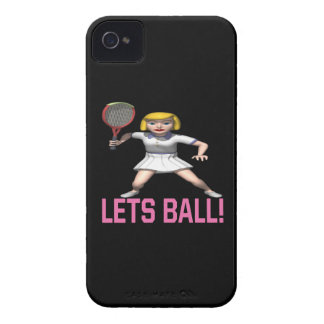 Lets Ball iPhone 4 Case-Mate Case
