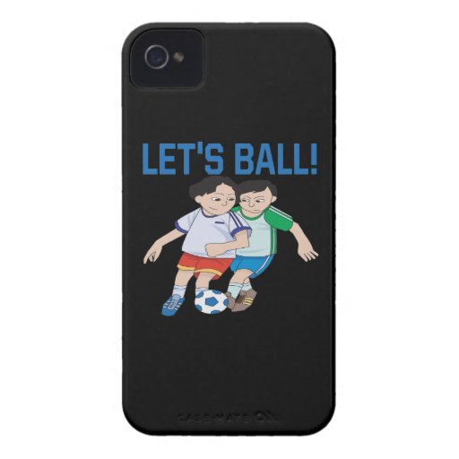 Lets Ball iPhone 4 Cases